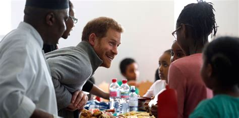 Harry Fit prince harry visits the fit and fed activity programme in
