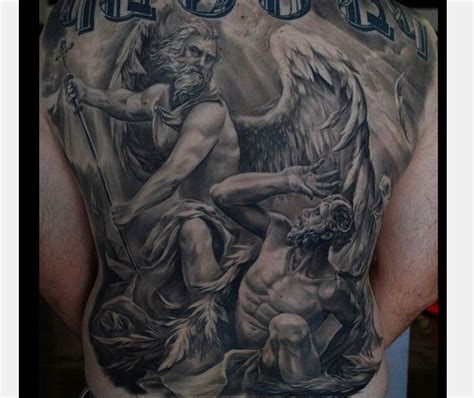archangel michael tattoo 16 popular st michael design ideas tattoos