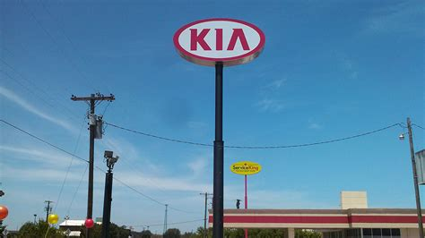 Kia Sign Custom Signs Led Displays Sign Install Service Repair