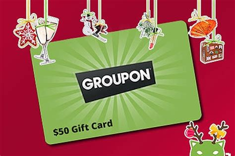 50 groupon christmas gift card groupon goods