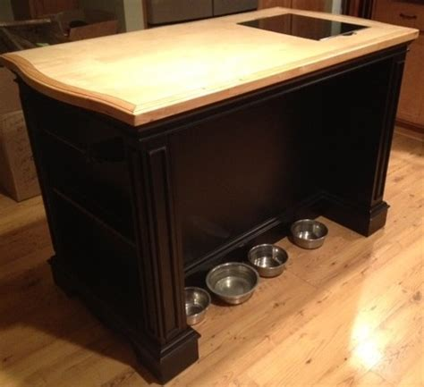 powell pennfield kitchen island in black natural amazon com powell pennfield kitchen island black natural