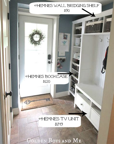 ikea entryway hacks ikea hemnes mudroom hack ikea hackers ikea hackers