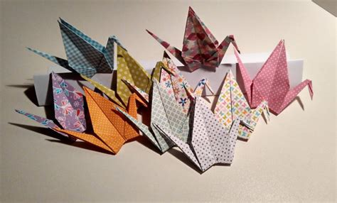 Origami Crane Wedding Decoration - origami cranes printed cranes by handmadegiftbox
