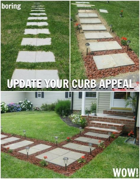 my landscape ideas boost 42 diy ideas to increase curb appeal box houses curb