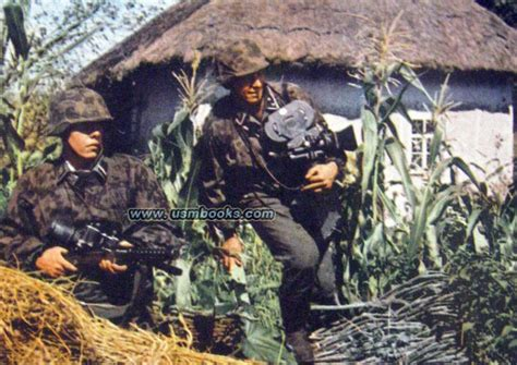 third reich color pictures waffen ss in color nazi combat color photo book zeitgeschehen in farben