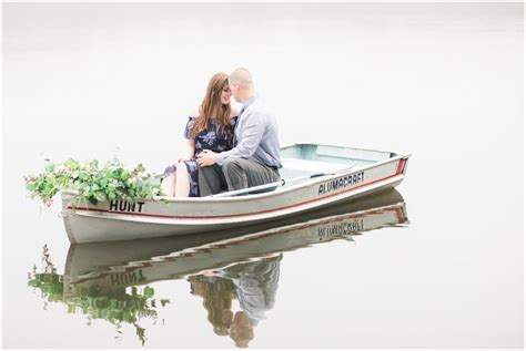 row boat nj gorgeous row boat engagement session on allamuchy pond