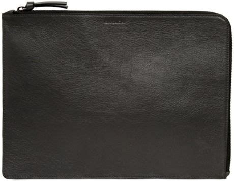 Document Bag Polo Team 8262 Black givenchy zipped leather document holder in black for lyst