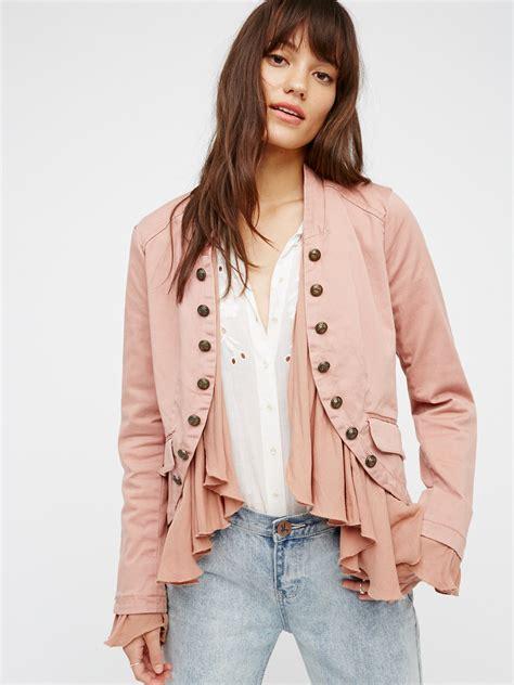 Ruffle Jacket ruffles jacket at free clothing boutique