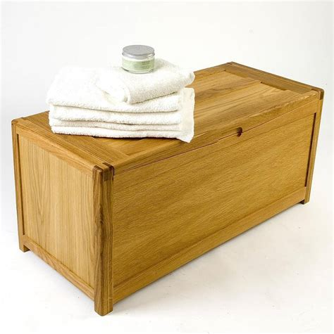 ottoman toy box oak toy box ottoman by mijmoj design notonthehighstreet com