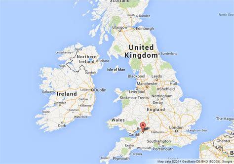 map uk bristol bristol on map of uk