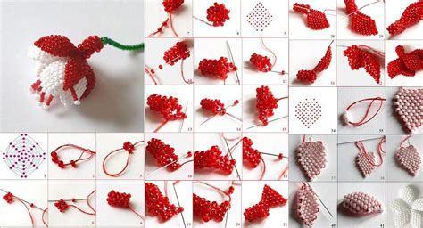 Do It Yourself Home Decor by How To Make Beads Or Pearls Fuchsia Flower Step By Step