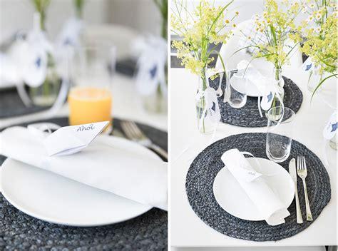 Tischdeko Hochzeit Maritim by Tischdeko Maritim Sommer Deko U Maritime Ideen Zum