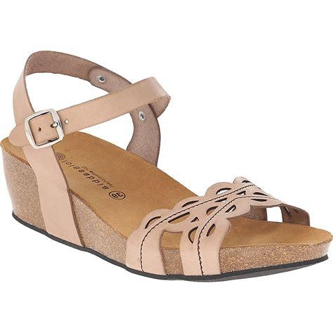 lola sandals lola sabbia royal womens leather ankle wedge heel