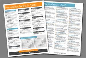 weekly bulletin template weekly church bulletin layout on behance