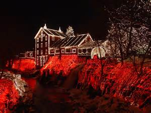 festivals pictures pictures christmas lights houses