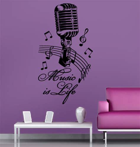 musik wohnzimmer tolles musik wandtattoo wohnzimmer dekoration aufkleber