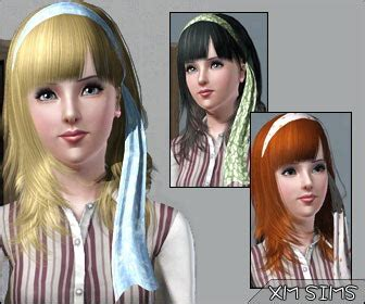 Xm Sims 3 The Sims 3 Free Downloads Hair   xm sims 3 the sims 3 free downloads hair