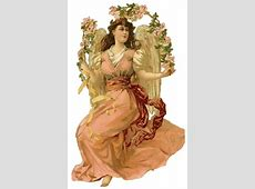 Victorian Angel Clipart - Vintage Images of Angels Free Baby Related Clipart