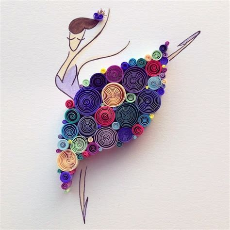 Paper Quilling Craft - paper quilling by runa projects ideas