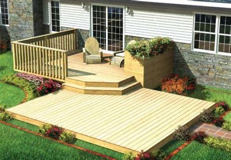 mobile home for what you need to before designing deck for mobile
