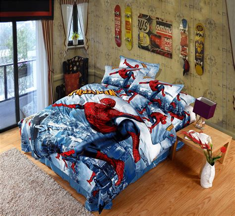 spiderman comforter set full online get cheap spiderman comforter set full aliexpress