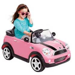 Pink Electric Mini Cooper Avigo Mini Cooper 6 Volt Ride On Pink Cars And