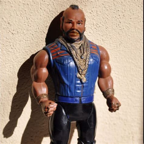 mr t figure figures and on