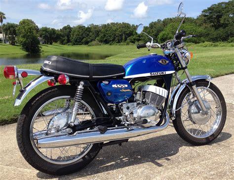 Suzuki T350 Rebel Restored Suzuki T350 Rebel 1970 Photographs At Classic