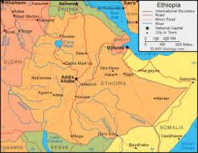 Ethiopia Map In World by Maps World Map Ethiopia