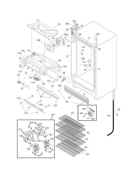 frigidaire gallery refrigerator fan replacement frigidaire refrigerator frigidaire refrigerator repair parts