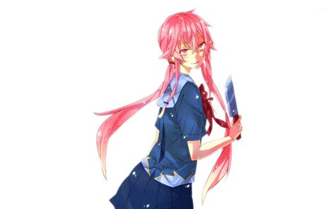 wallpaper anime yuno yuno gasai future diary 11 wallpaper anime