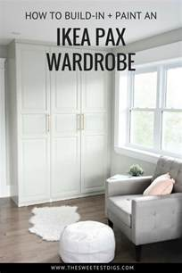 ikea pax wardrobe hack get a stunning closet with this ikea pax hack the