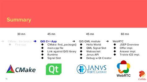 xcode qt tutorial iit rtc 2017 qt webrtc tutorial qt janus client