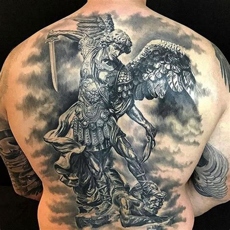 st michael the archangel tattoo 95 best michael tattoos designs meanings 2019