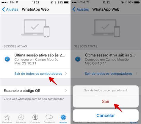 O Iphone Nao Esta Ativado Como Saber Se O Whatsapp Web Est 225 Aberto No Android Iphone E Windows Phone Dicas E Tutoriais