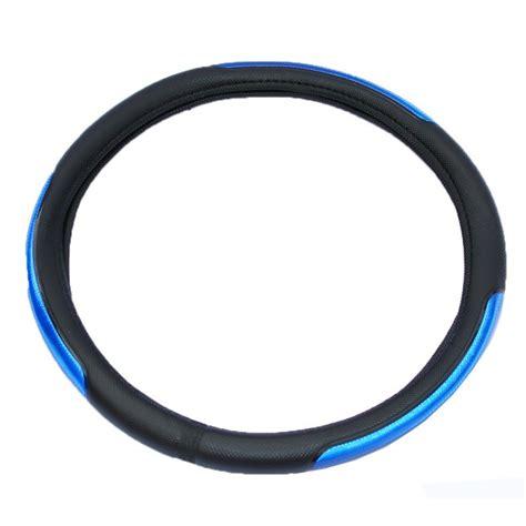cubre volante cuero cubre volante cuero con reflectivo azul cv 027a siete