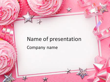 powerpoint birthday card template birthday greeting card powerpoint template backgrounds