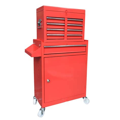 new 5 drawer tool box trolley roller cabinet chest on