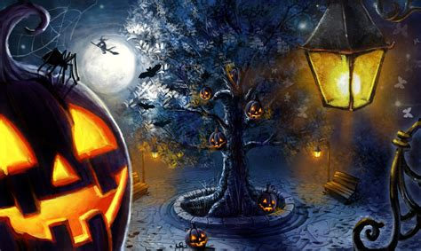 halloween night themes full wallpaper gothic wallpapers