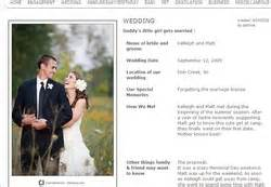 Wedding Announcements Websites by Website Launched For Free Announcements