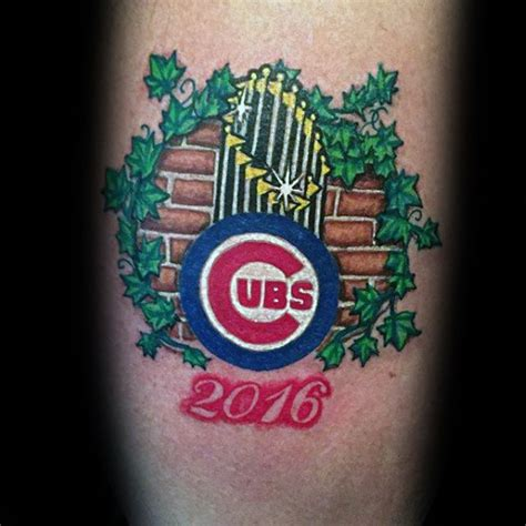 chicago cubs tattoos 80 chicago cubs designs for baseball ideas