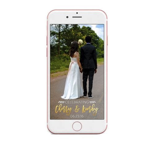 10 Ways To Use Technology To Help Plan Your Wedding Bridalguide Indian Wedding Snapchat Filter Template