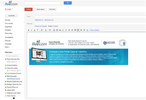 layout de email assinaturas de e mail em html paulo rezende