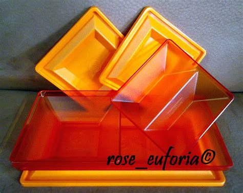 Get Together 3 Tupperware rose euforia my tupperware collection tupperware 3 units