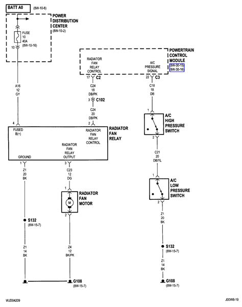 radiator fan relay wiring diagram wiring diagram with