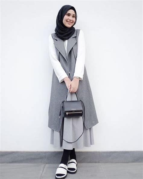 Baju Kerja Muslim gambar model baju kerja muslimah modern terbaru 2018