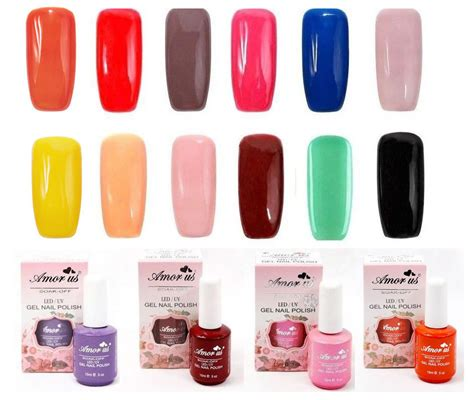 colors nail salon quot any 4 colors quot salon gel nail color uv led soak