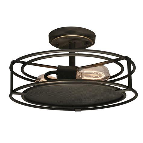 copper semi flush light springdale lighting peter 2 light copper bronze semi