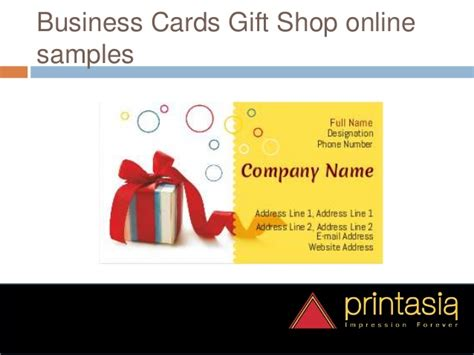 Gift Business Cards