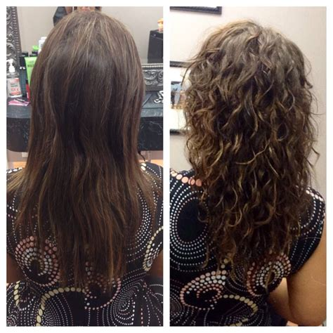 curly perm before after body wave perm before and after amazing nails and hair